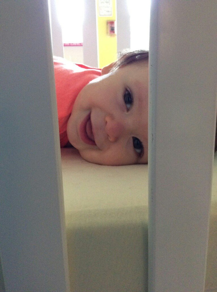baby boy in a crib - Sleepyhead Consulting