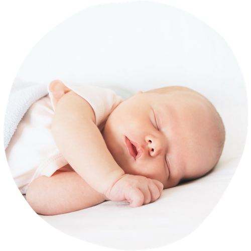 sleeping baby girl - Sleepyhead Consulting