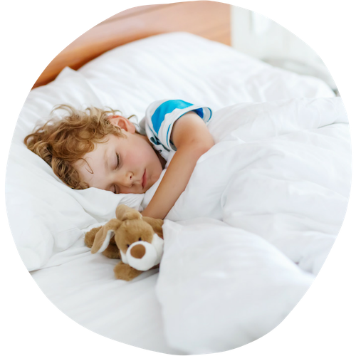 sleeping toddler boy - Sleepyhead Consulting
