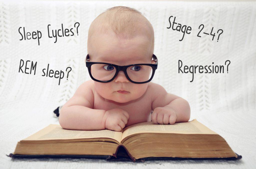 baby wearing glasses - Sleepyhead Consulting