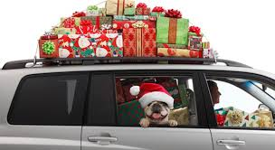 car loaded at Christmas - Sleepyhead Consulting
